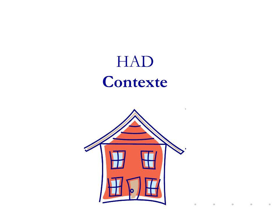 HAD Contexte CChapuis/Epidémilo IAS HAD/2011