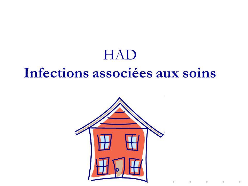 HAD Infections associées aux soins
