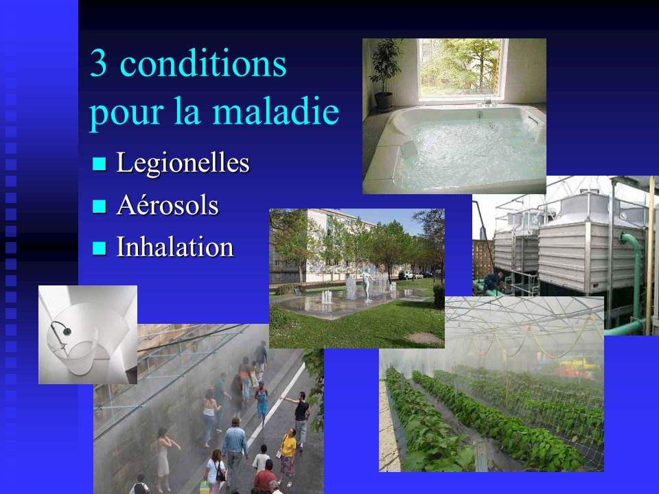 3 conditions pour la maladie