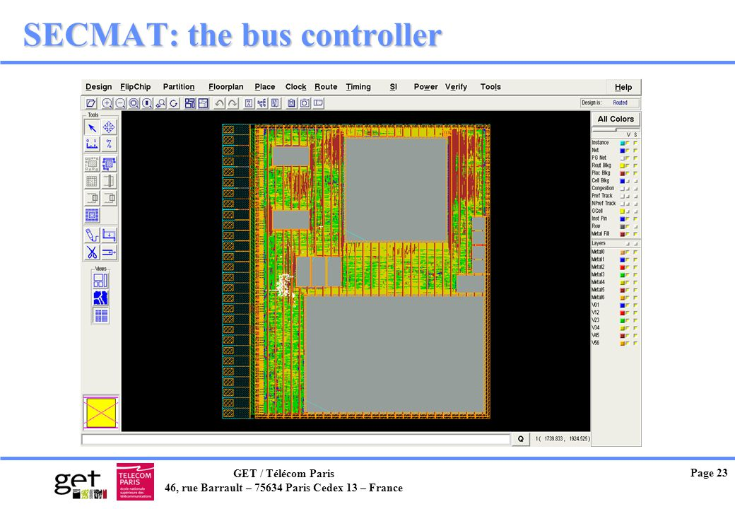 SECMAT: the bus controller