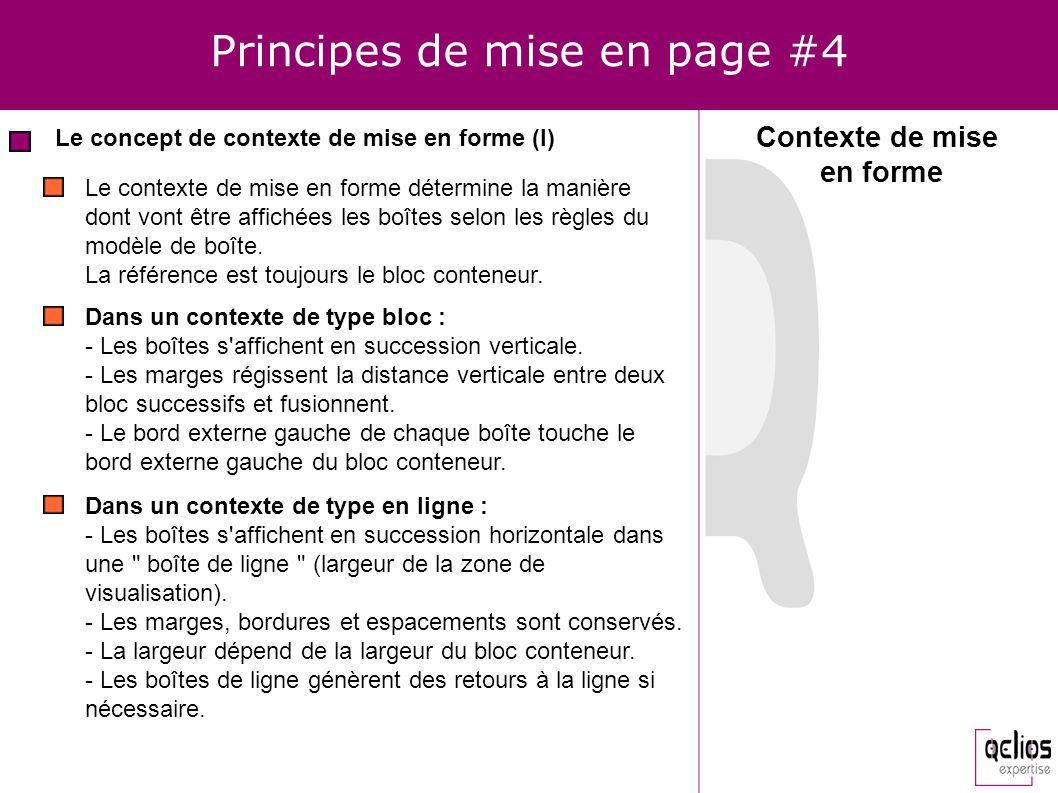 Principes de mise en page #4