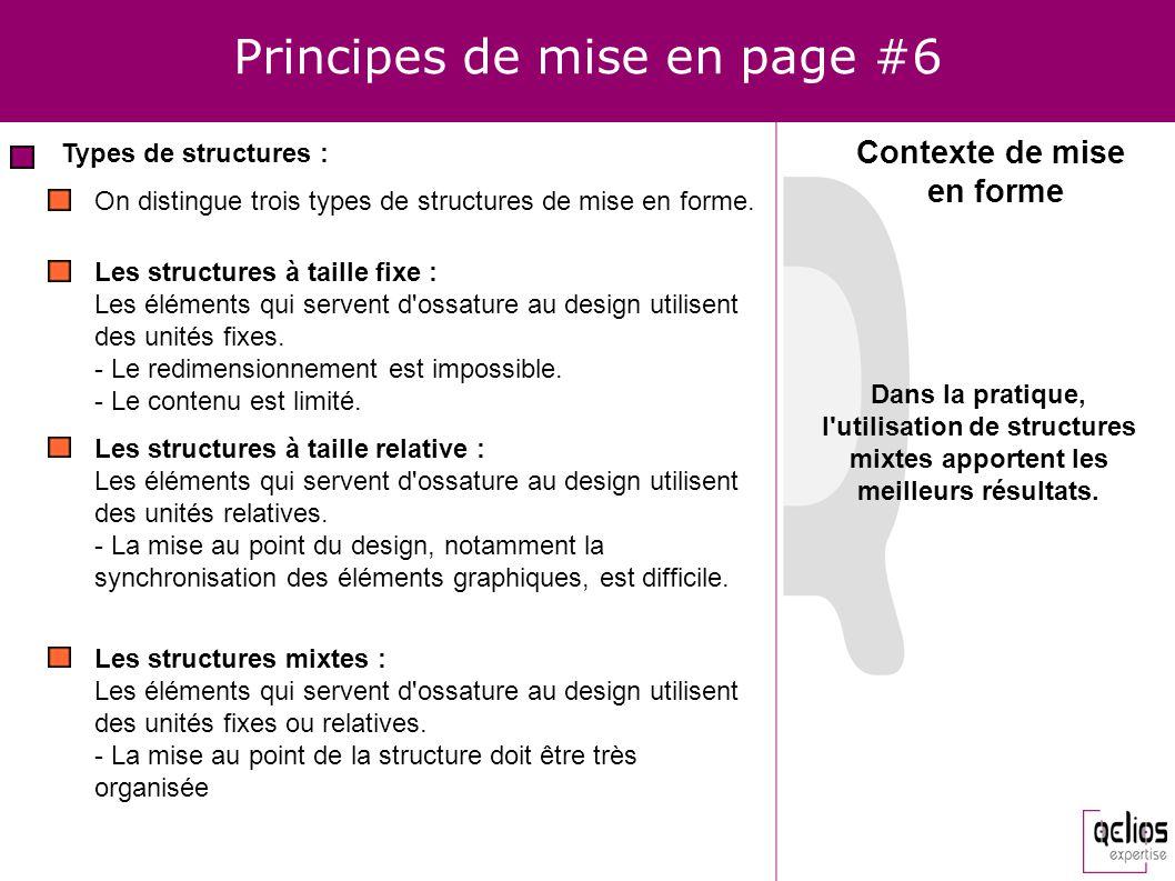Principes de mise en page #6
