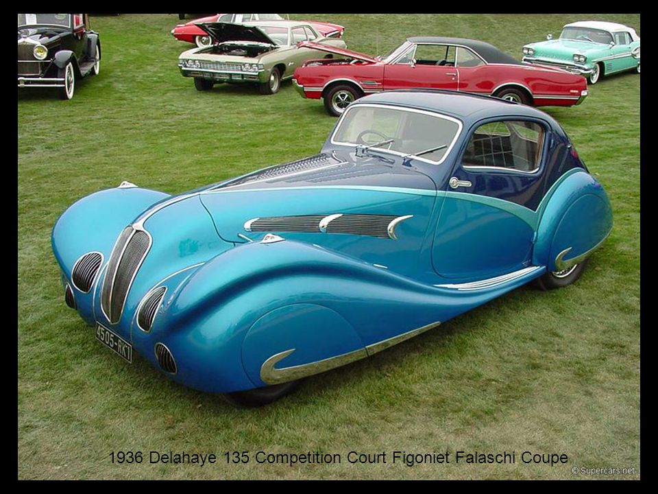 1936 Delahaye 135 Competition Court Figoniet Falaschi Coupe