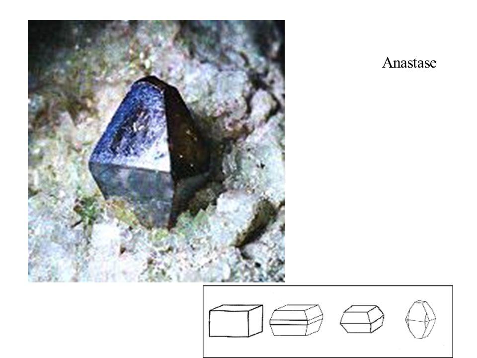 Anastase (TiO2) bleu-noir