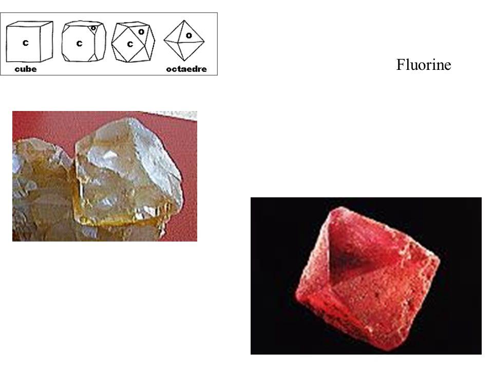 Fluorine Cube et octaèdre