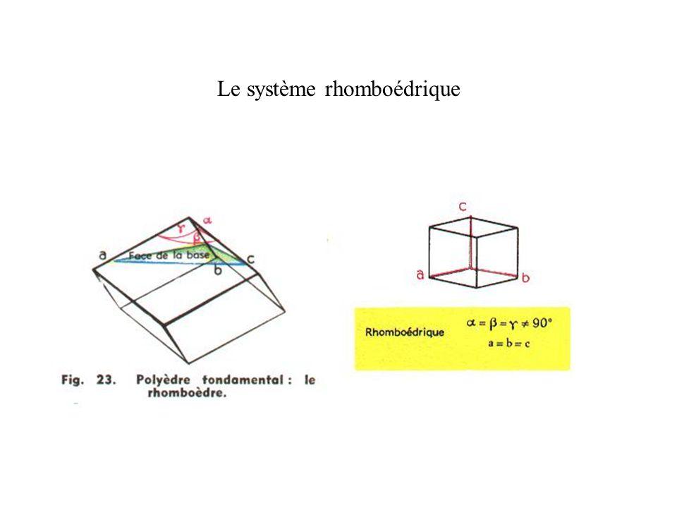 Le système rhomboédrique