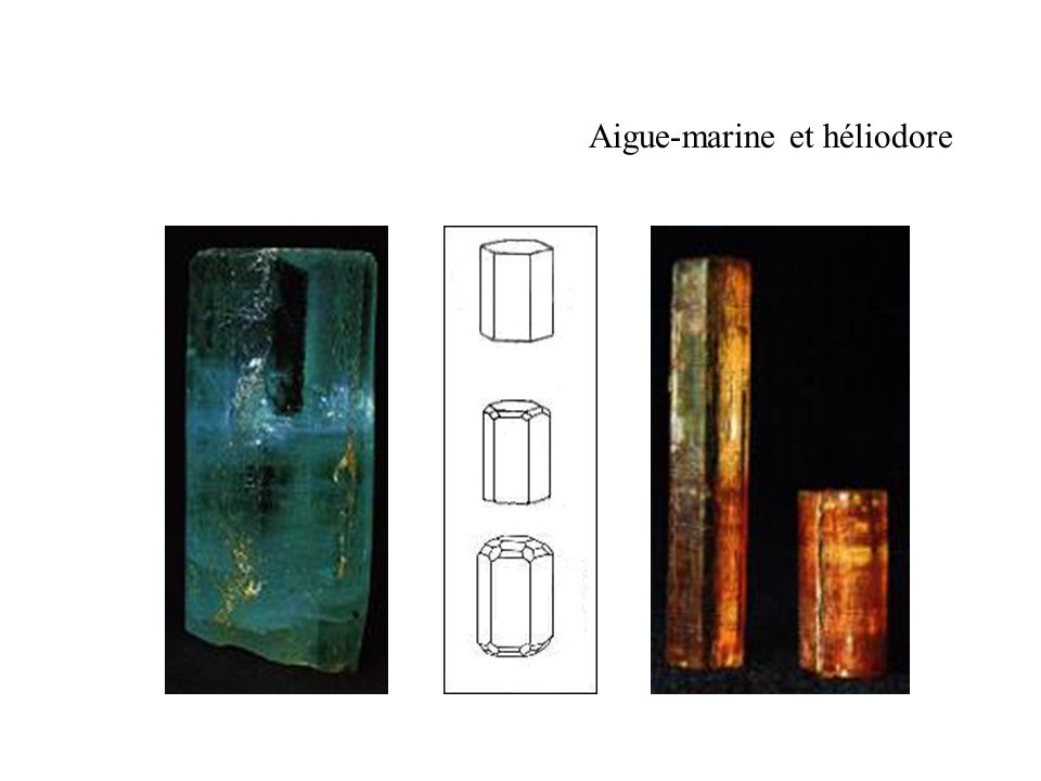 Aigue-marine et héliodore