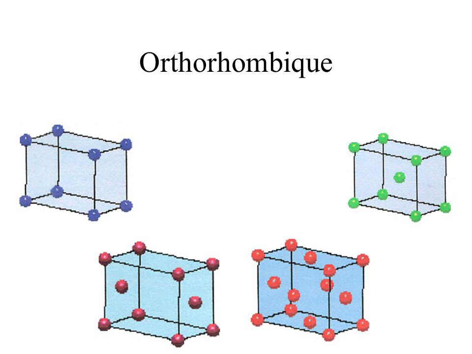 Orthorhombique