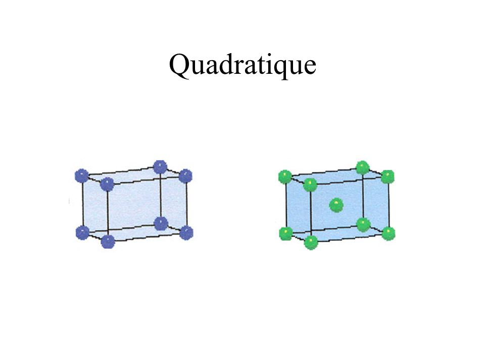 Quadratique