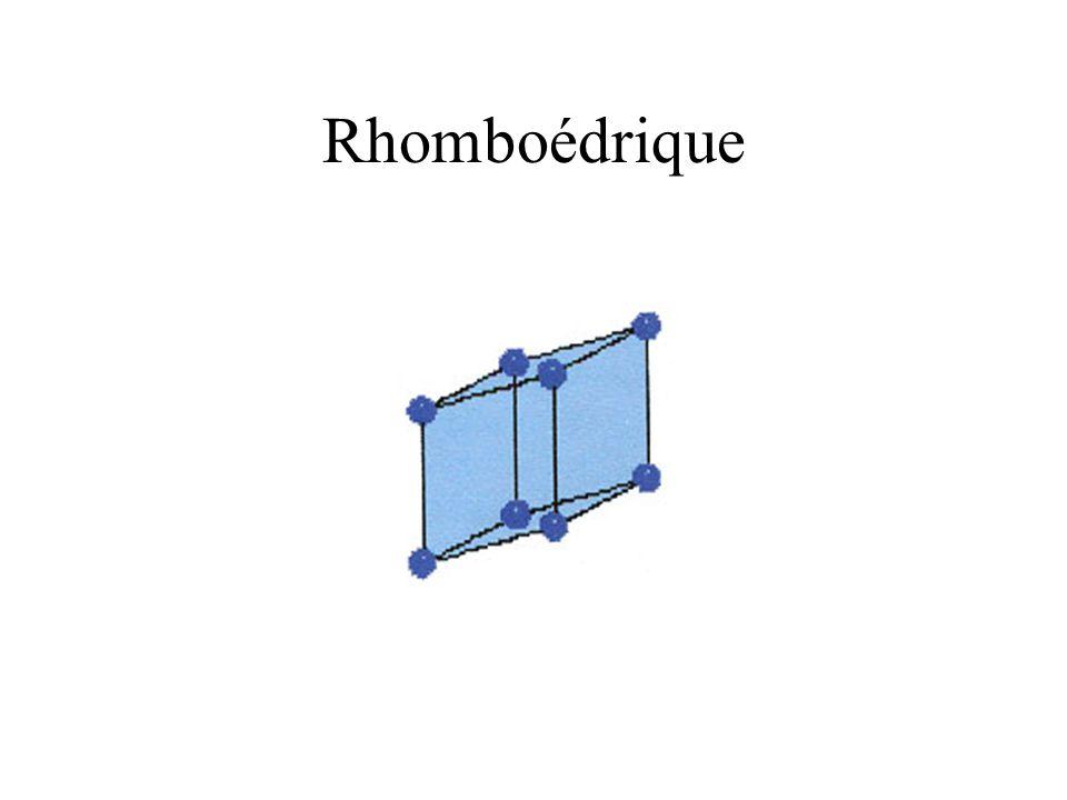 Rhomboédrique