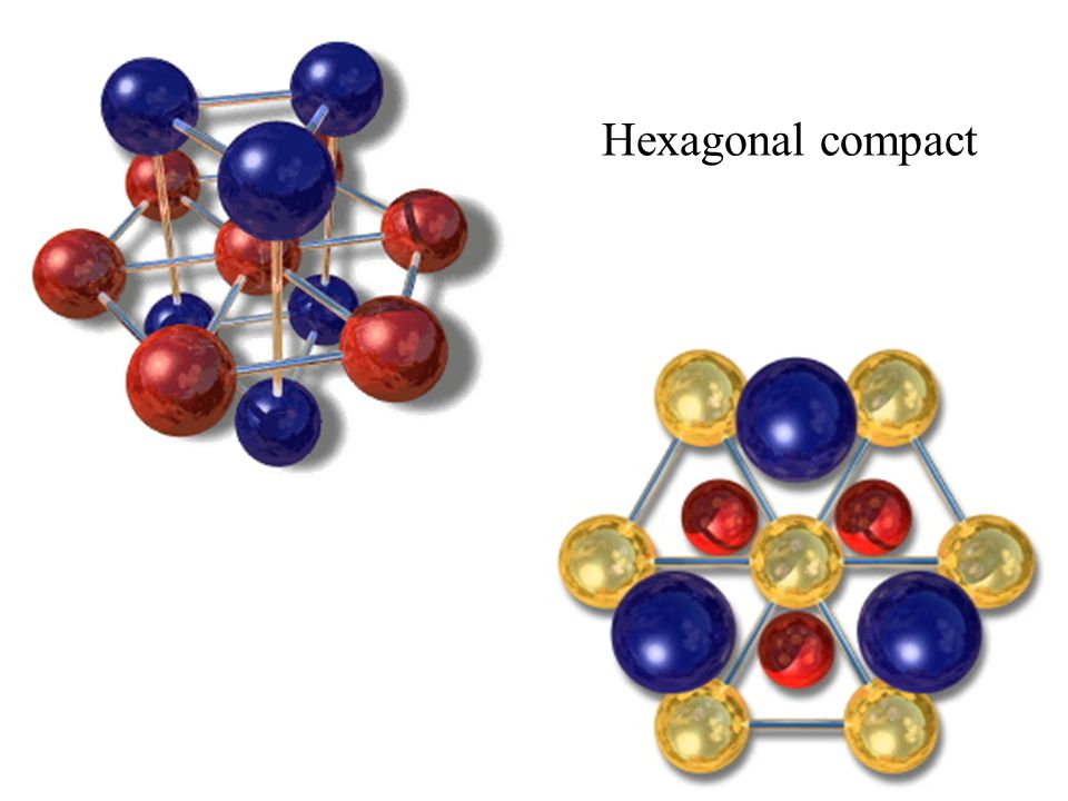 Hexagonal compact