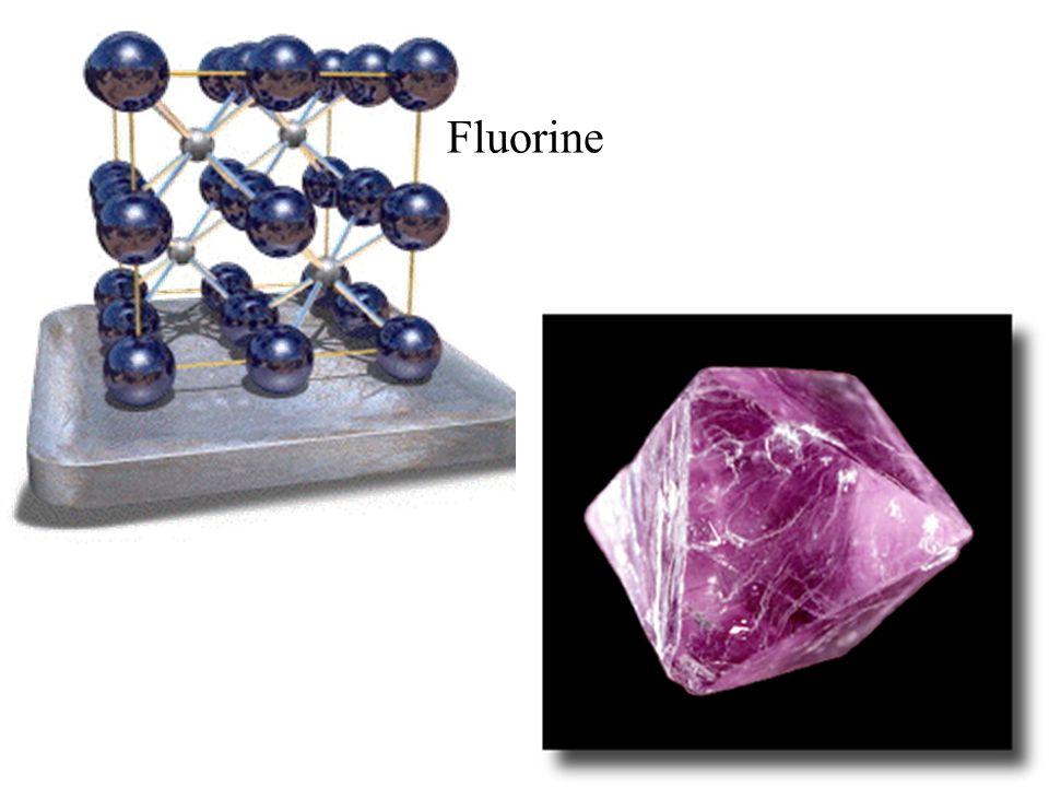 Fluorine Fluorine: Ca F2
