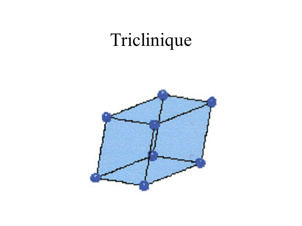 Triclinique