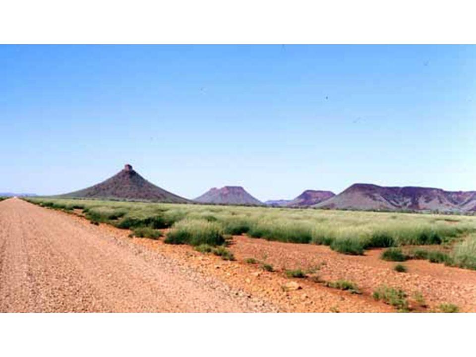 Buttes-témoin, Australie de l ouest
