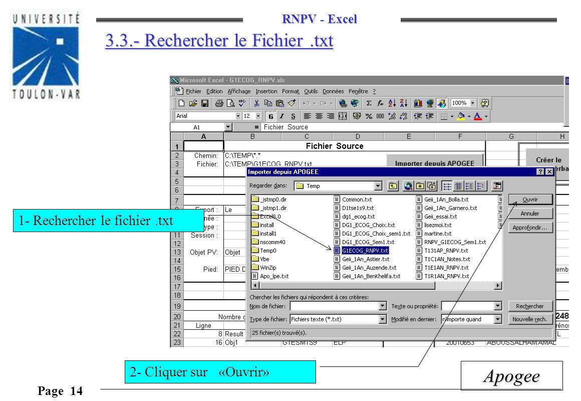 3.3.- Rechercher le Fichier .txt