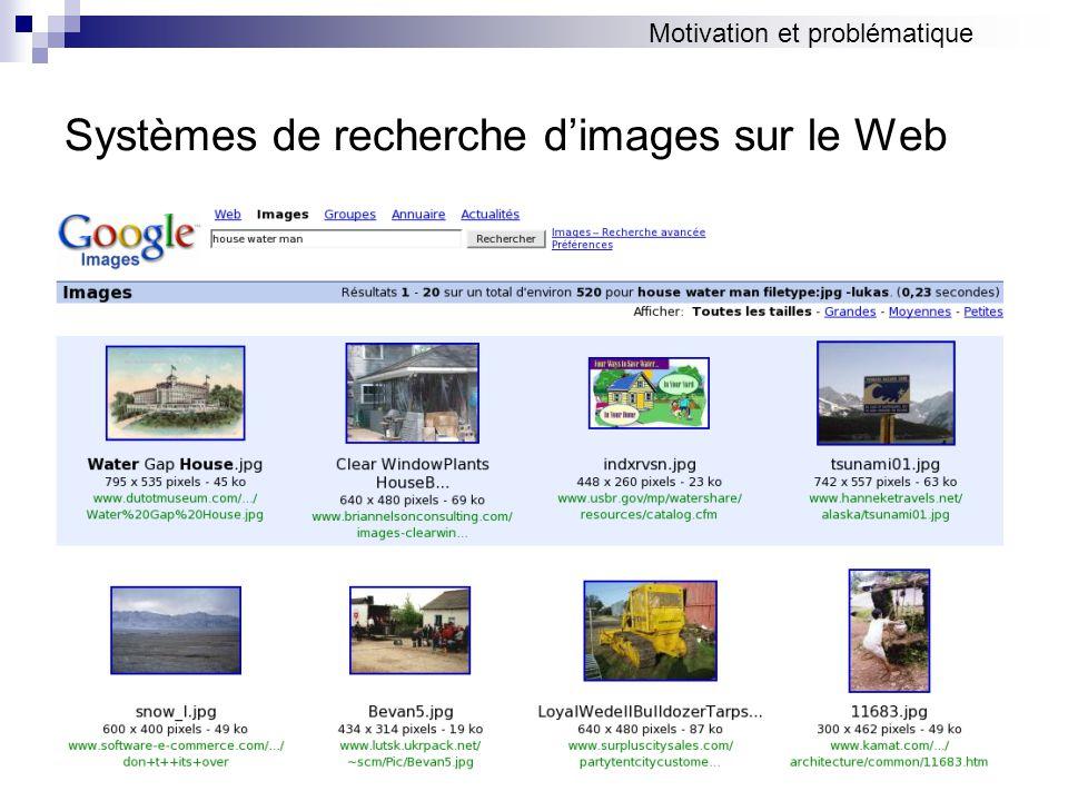 Systèmes de recherche d'images sur le Web