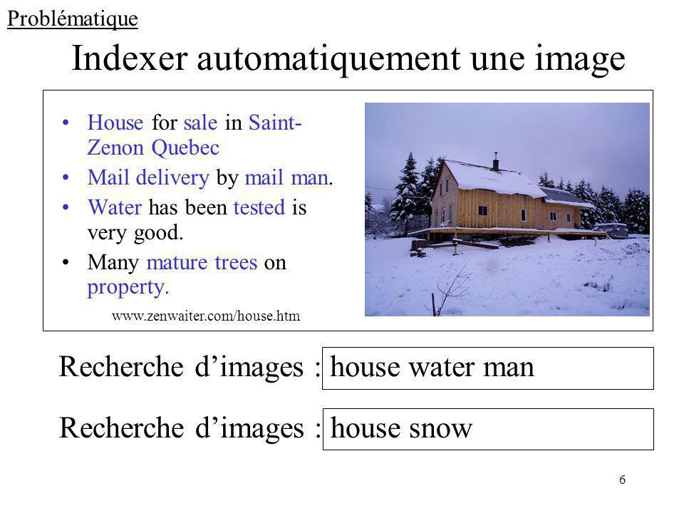 Indexer automatiquement une image