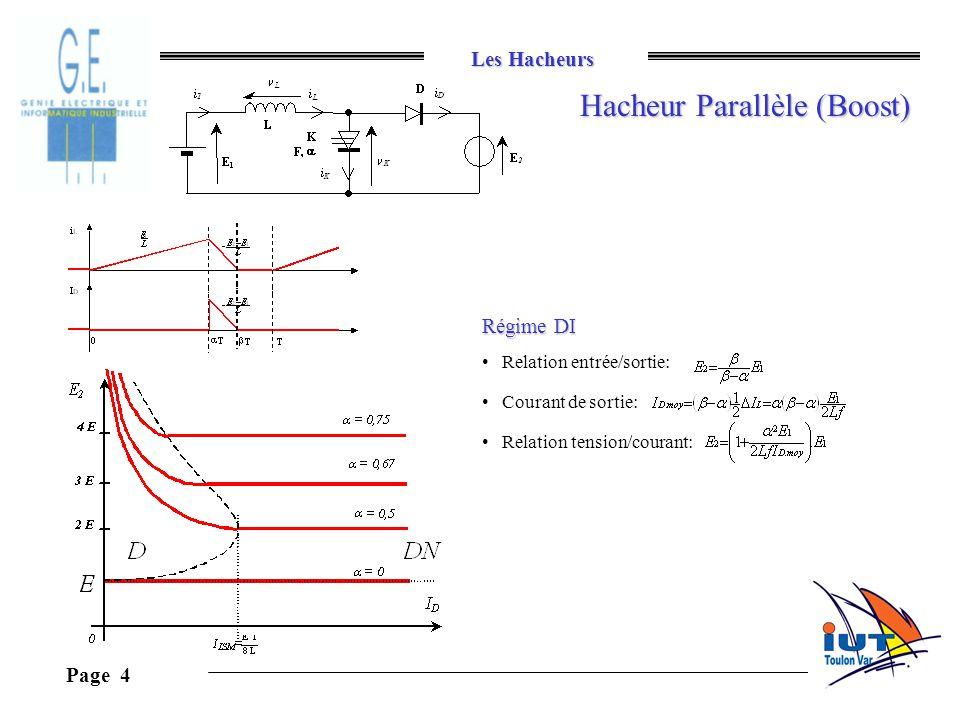 Hacheur Parallèle (Boost)