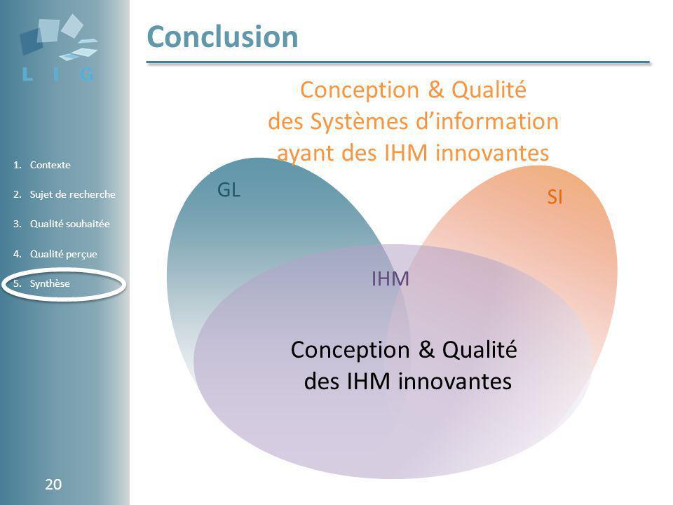 des Systèmes d'information ayant des IHM innovantes