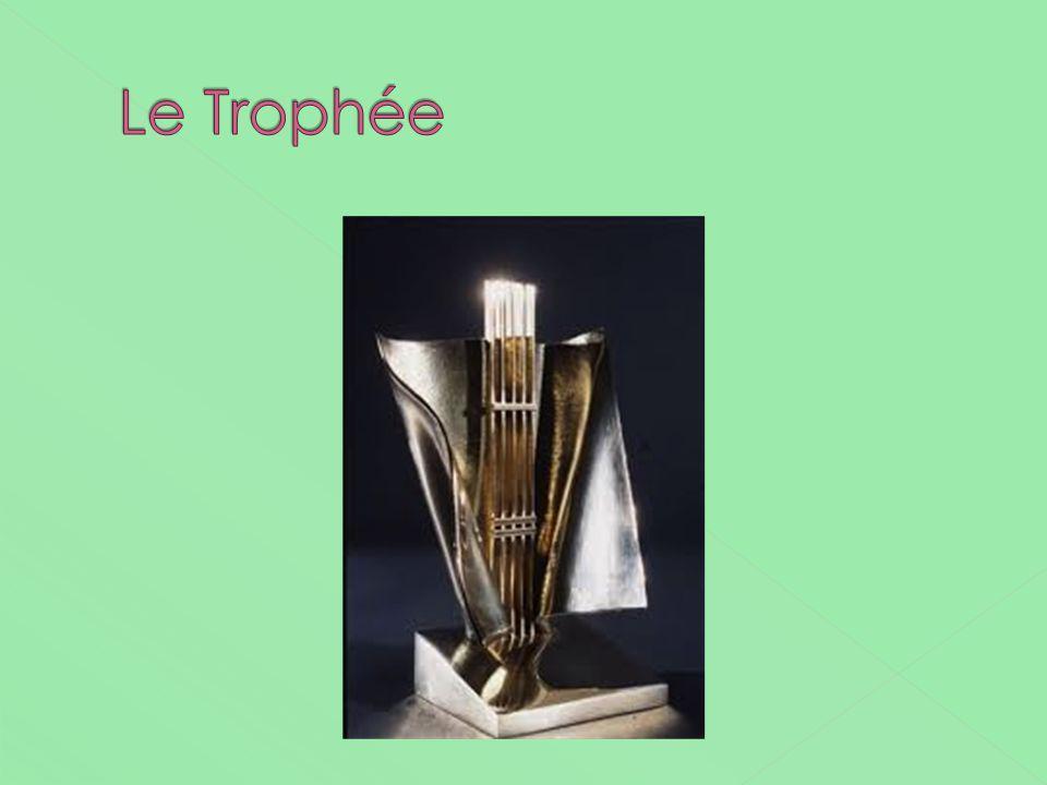 Le Trophée Comme un instrument à 4 cordes