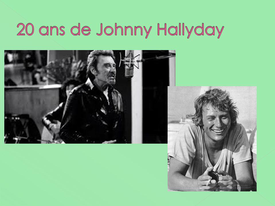 20 ans de Johnny Hallyday