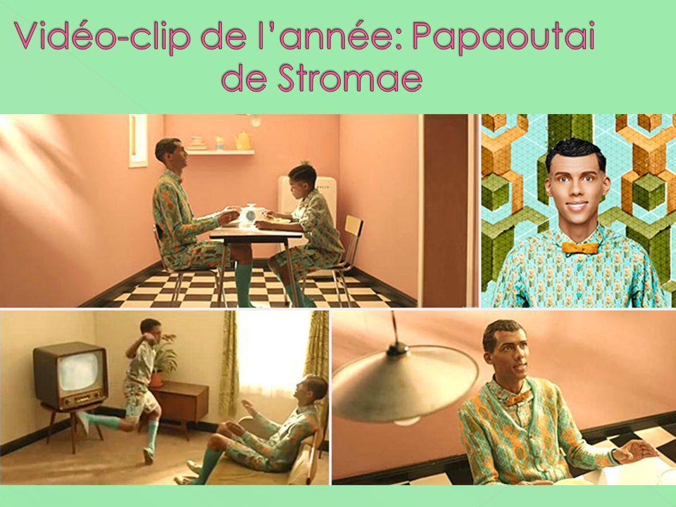 Vidéo-clip de l'année: Papaoutai de Stromae