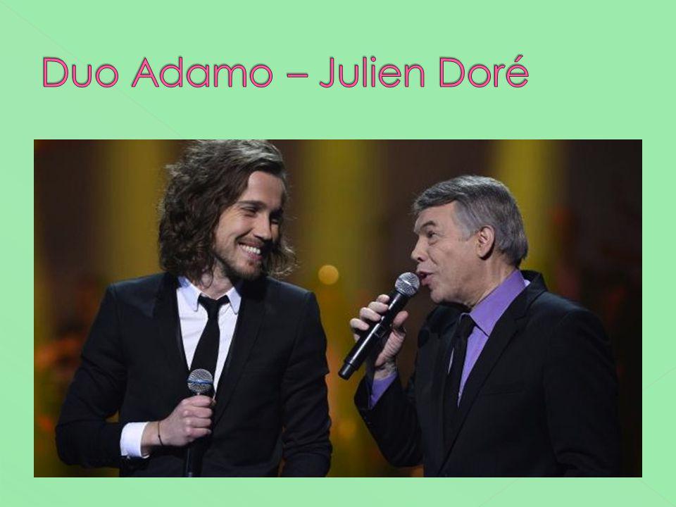Duo Adamo – Julien Doré Ils ont chanté mes mains sur tes hanches