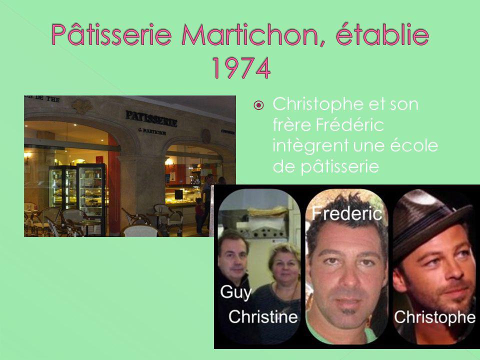 Pâtisserie Martichon, établie 1974