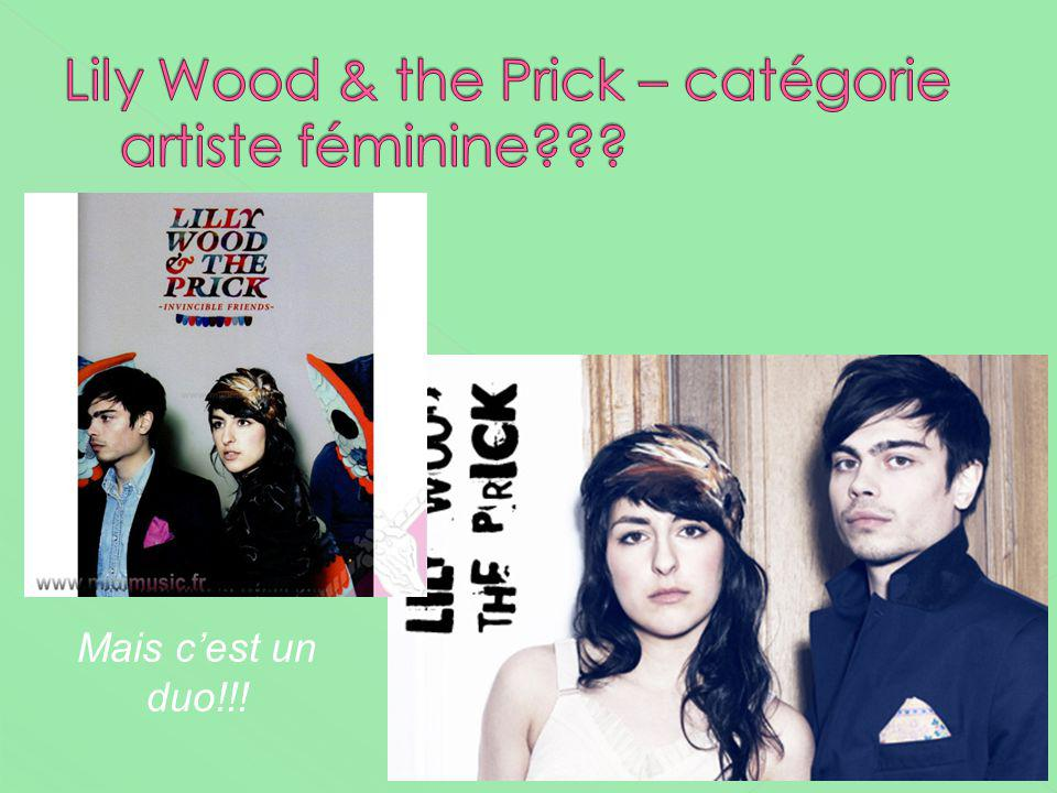 Lily Wood & the Prick – catégorie artiste féminine