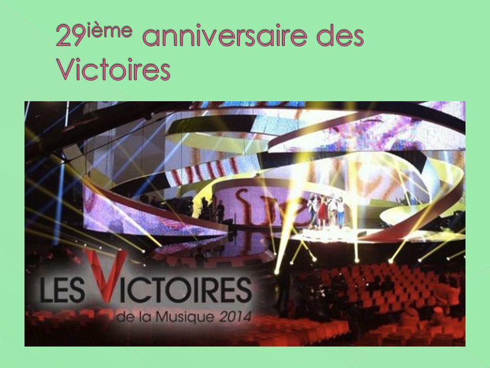 29ième anniversaire des Victoires