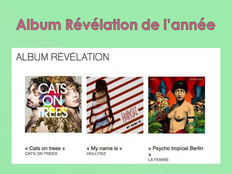 Album Révélation de l'année