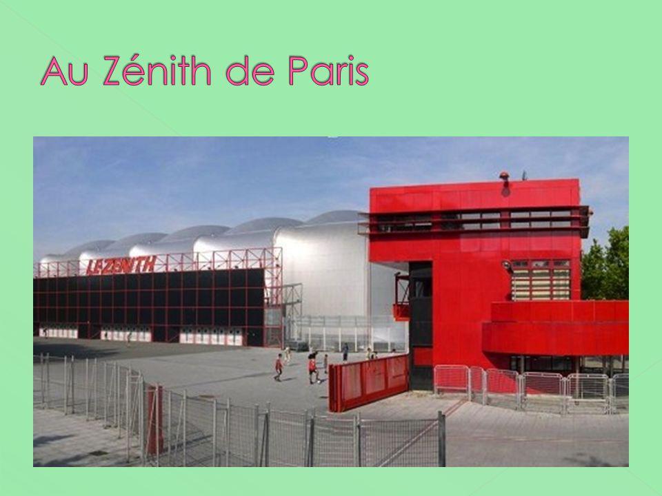 Au Zénith de Paris