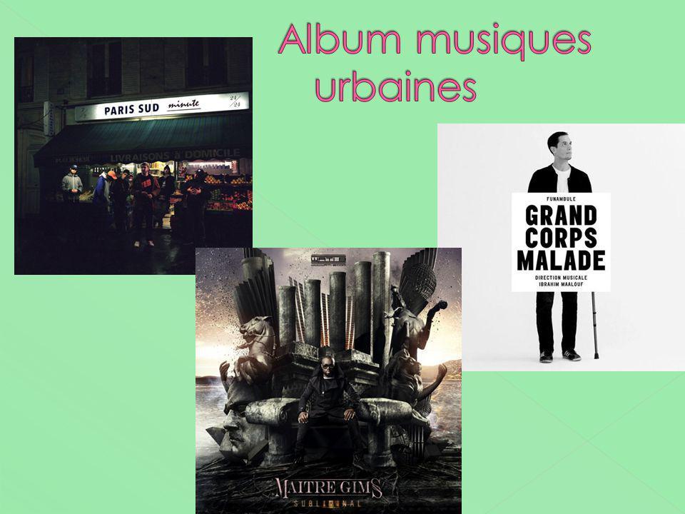 Album musiques urbaines