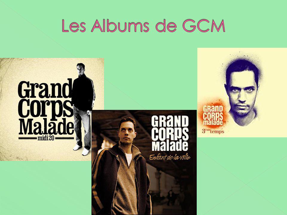 Les Albums de GCM