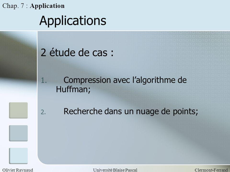 Applications 2 étude de cas :