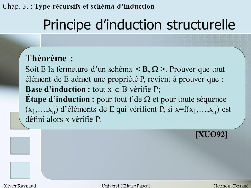Principe d'induction structurelle