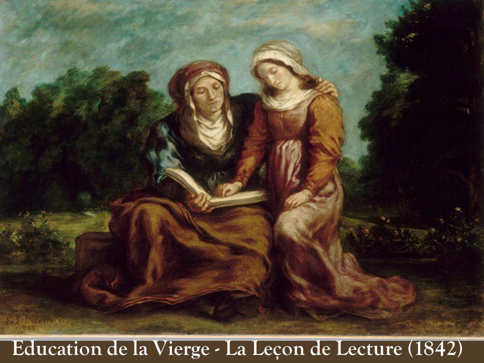 Education de la Vierge - La Leçon de Lecture (1842)