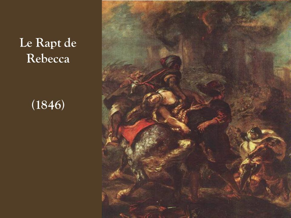 Le Rapt de Rebecca (1846)