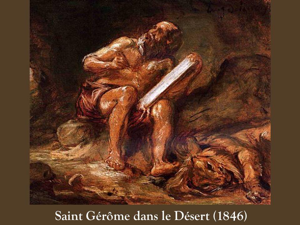 Saint Gérôme dans le Désert (1846)