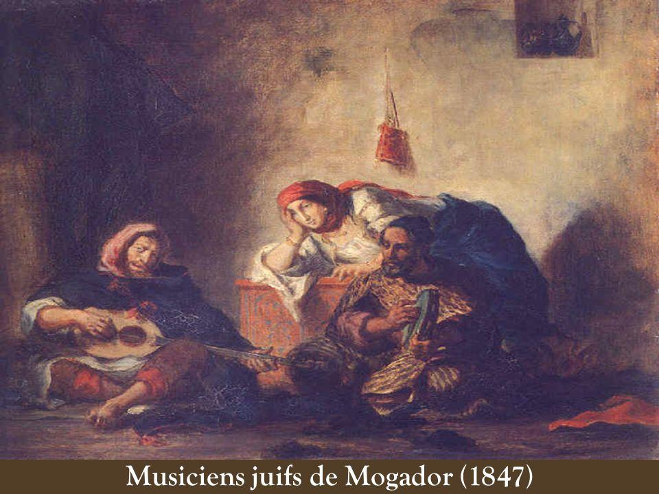 Musiciens juifs de Mogador (1847)