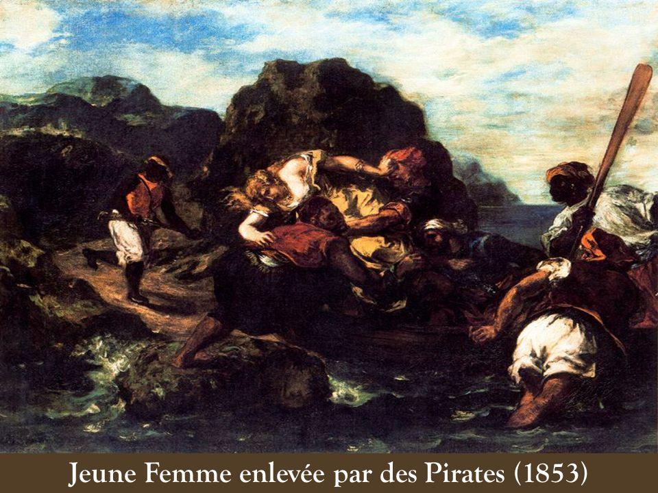 Jeune Femme enlevée par des Pirates (1853)