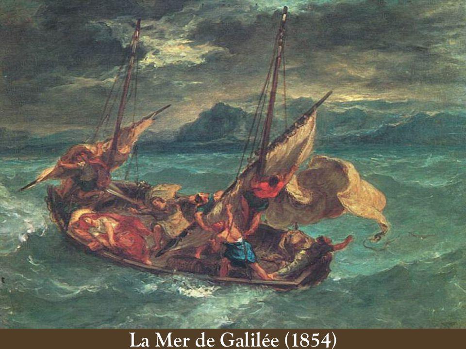 La Mer de Galilée (1854)
