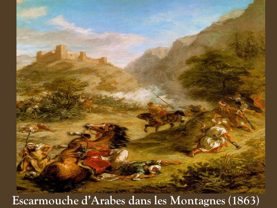 Escarmouche d'Arabes dans les Montagnes (1863)