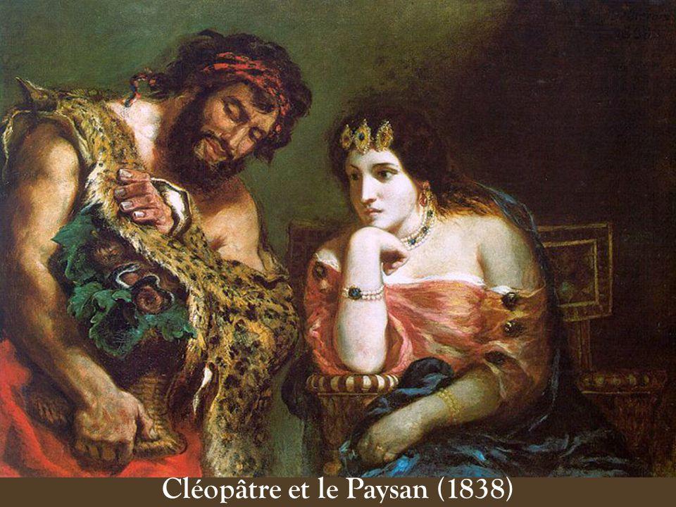 Cléopâtre et le Paysan (1838)