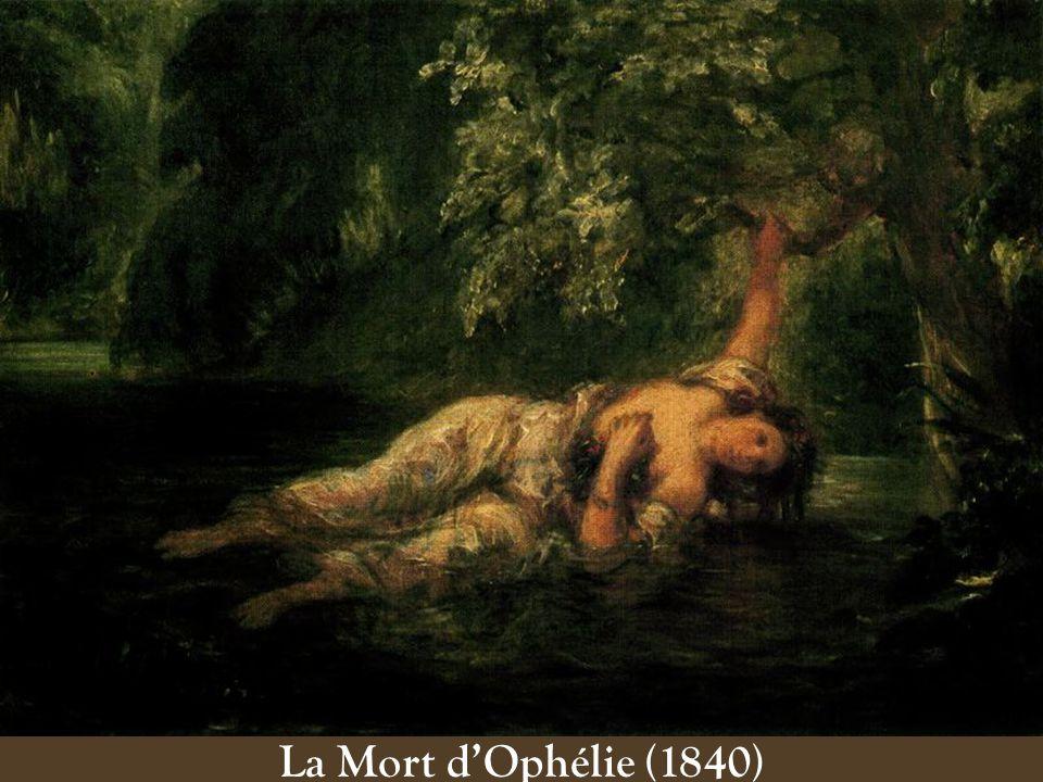 La Mort d'Ophélie (1840)