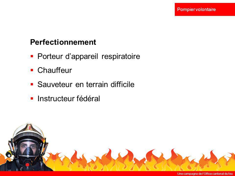 Porteur d'appareil respiratoire Chauffeur