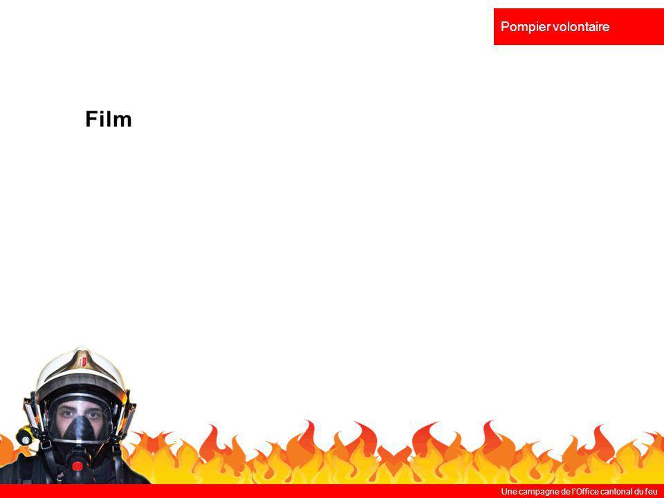 Pompier volontaire Film Une campagne de l'Office cantonal du feu