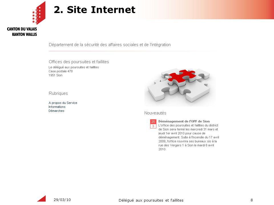 2. Site Internet