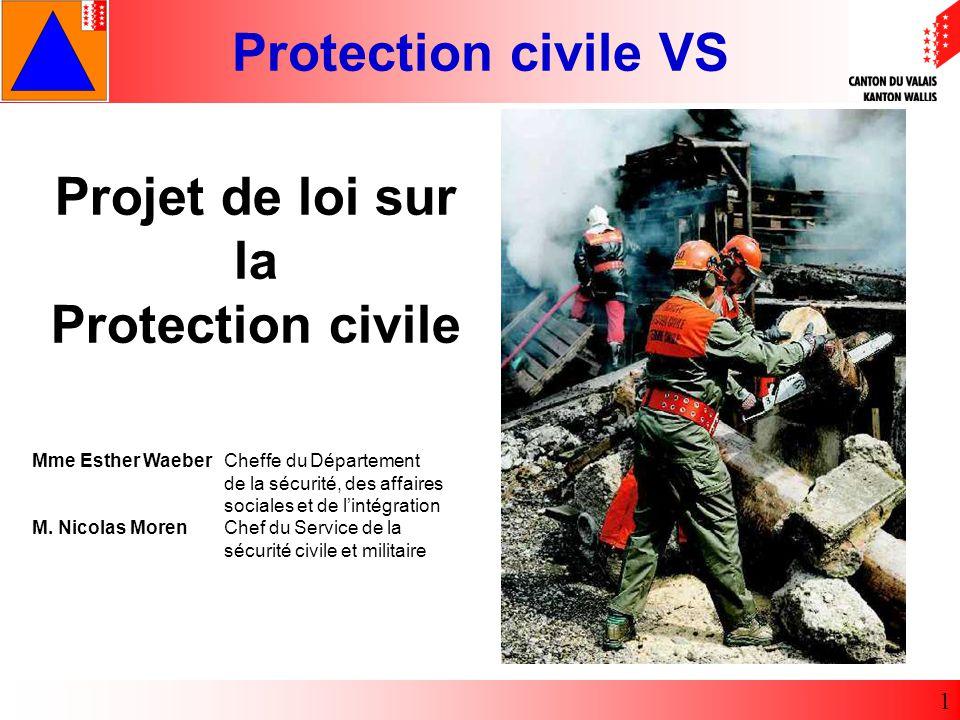 Projet de loi sur la Protection civile