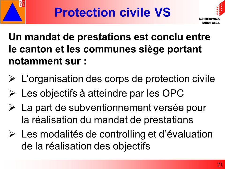 Un mandat de prestations est conclu entre le canton et les communes siège portant notamment sur :